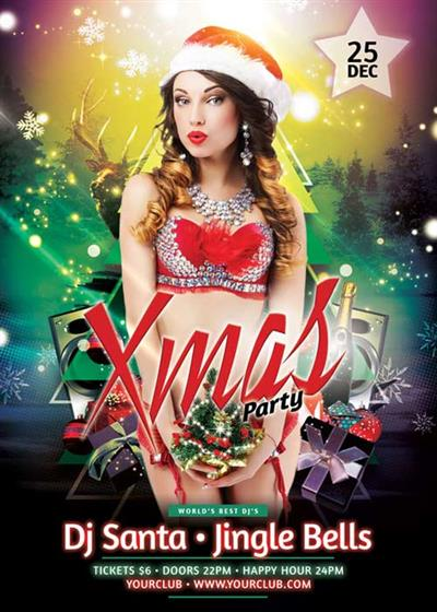 Christmas V61 2017 Flyer Template