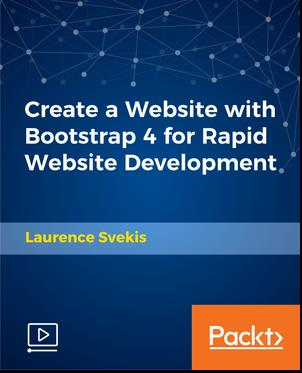 Create a Website with Bootstrap 4 for Rapid Website Development