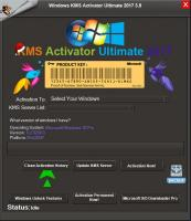 Windows KMS Activator Ultimate 2017 V3.8 Portable