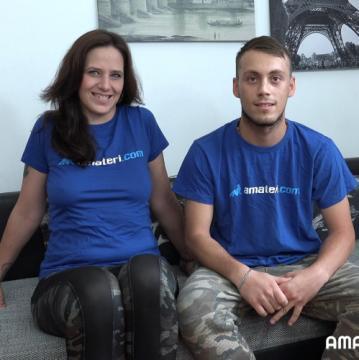 Cloe Del Mare - Czech amateurs couple Stepanka and Mike (2018) HD 720p