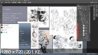 Концепт-арт в фотошопе (2017)