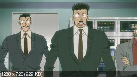 Детектив Конан: Подсолнухи инферно / Meitantei Conan Gouka no Himawari / Detective Conan 19th - Sunflowers of Inferno (2015) BDRip 720 | L