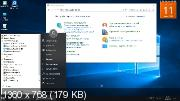 Windows 10 Pro x64 1803.17134.191 Ultra Slim Build by TomeCar (ENG+RUS/2018)