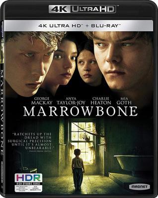 Обитель теней / Marrowbone (2017) UHD BDRemux 2160p | 4K | HDR | iTunes