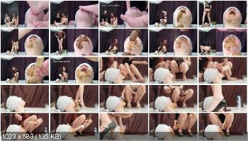 Femdom (MilanaSmelly) Rapid swallowing of female shit without chewing [HD 720p] Humiliation, Face Sitting