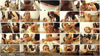 NewScatInBrazil.com (Lisa Black, Lust, Nicole) The Toilet Girl [UltraHD 4K] Eat shit, Domination