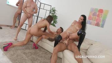 Swarthy Angels #2, Texas Patti & Kristy Black Balls Deep Anal, Multiple DAP, airplane, gapes, cumswapping with swallow GIO742 (2018) HD 720p