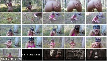 Defecation (Brown wife) Unity with nature [FullHD 1080p] Solo, Outdoor