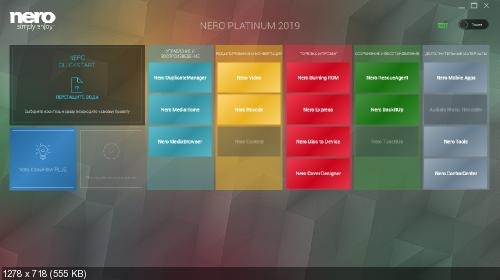 Nero Platinum 2019 Suite 20.0.05900